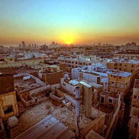 One Bahrain by Tyrone de Asis - City,  Street & Park  Vistas ( manama, cities, tary, bahrain, villages, sunrise, travel )