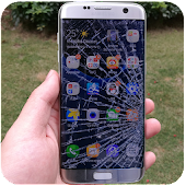 Broken  Screen Prank - Electric & Fire Android APK Download Free By FeatureMobile