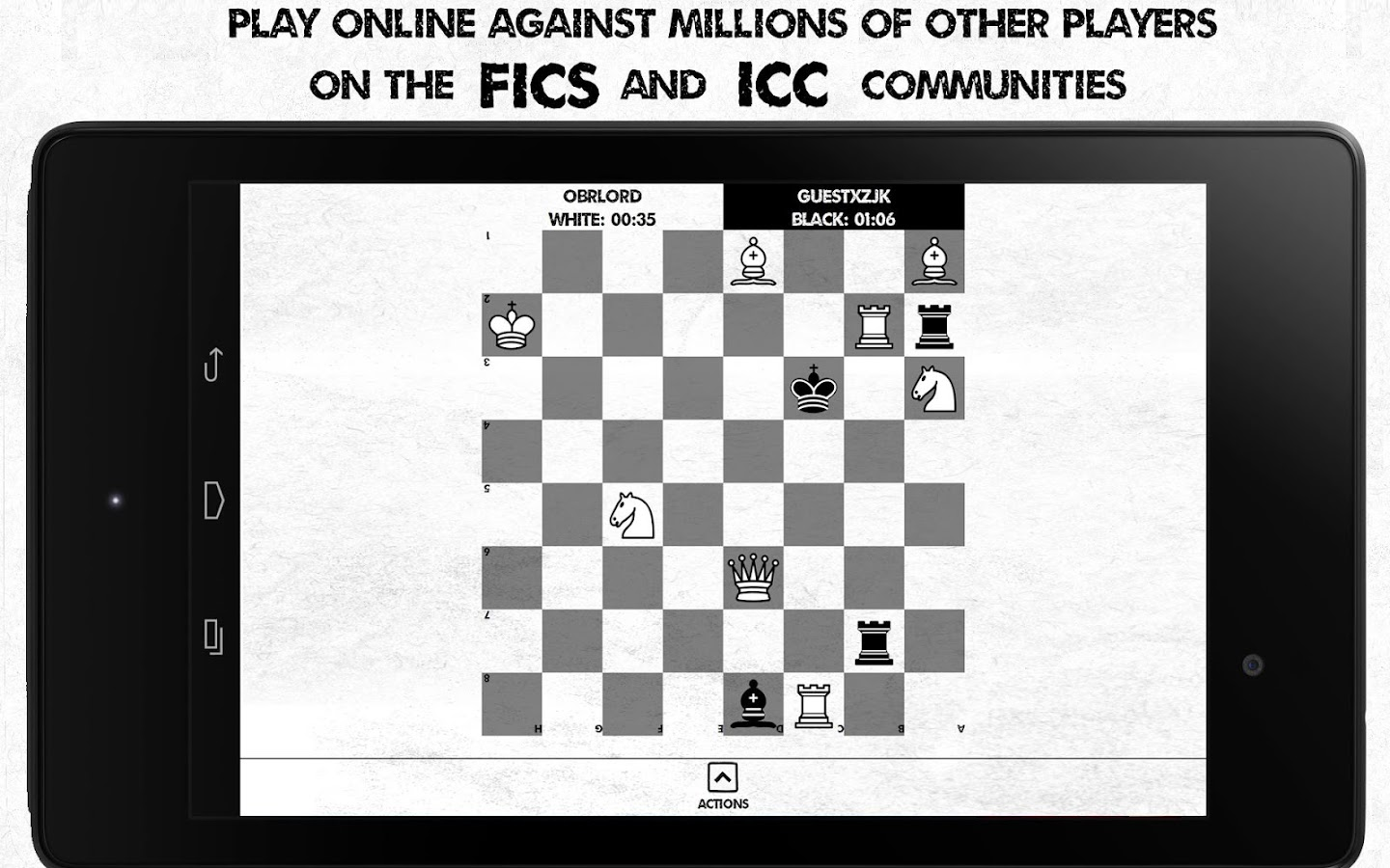 Noir Chess Free Tactic Trainer- screenshot