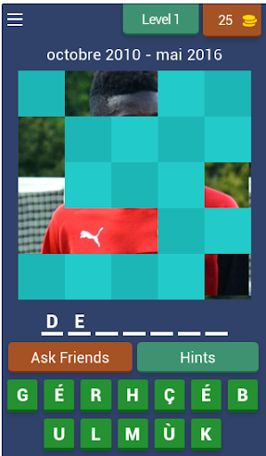Stade Rennais : Devinez les joueurs de foot / Quiz android2mod screenshots 1
