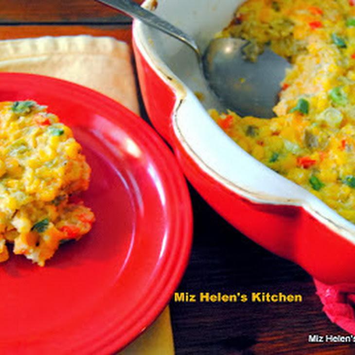 Corn and Green Chili'S Casserole Recipe