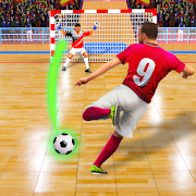 Football Kick and Goal: Indoor Soccer Futsal 2020