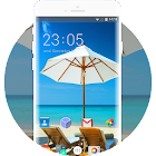 Theme for Lava A89 Beach Wallpaper icon