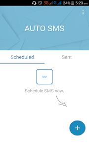 Auto SMS screenshot 0
