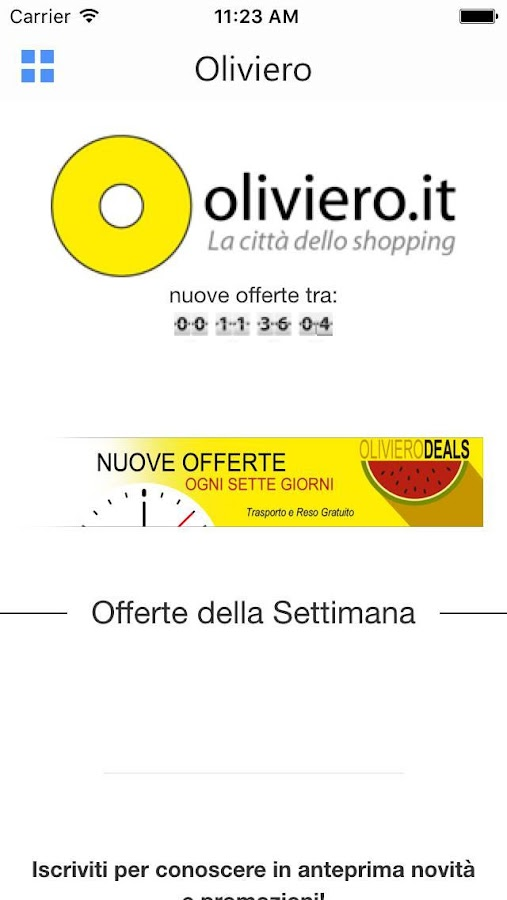Oliviero città dello shopping- screenshot