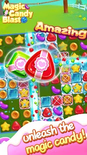 Magic Candy Blast - New Puzzle Match 3 Candy Games - náhled