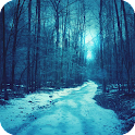 Snow Forest HD Live Wallpaper icon