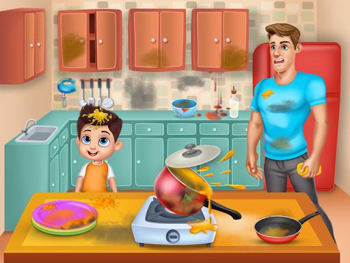 Daddyu2019s Helper Fun - Messy Room Cleanup screenshots 1