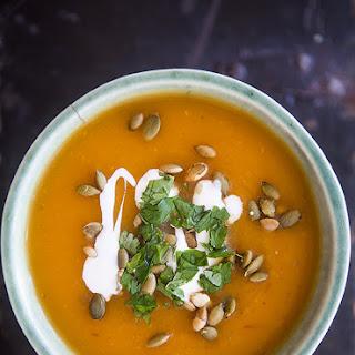 Chipotle Pumpkin Soup.