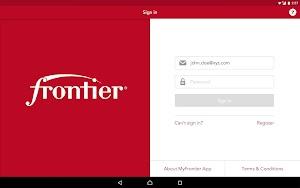 13 MyFrontier App screenshot