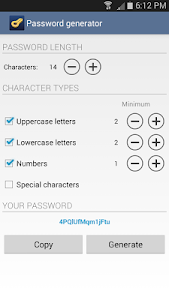 Keyfob Password Manager screenshot 4