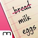 My Shopping list icon