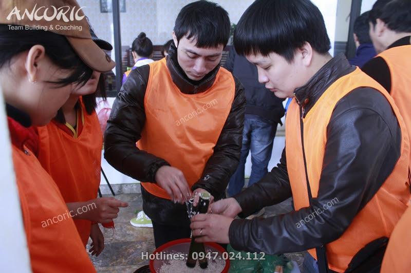 team building tam đảo nấu ăn