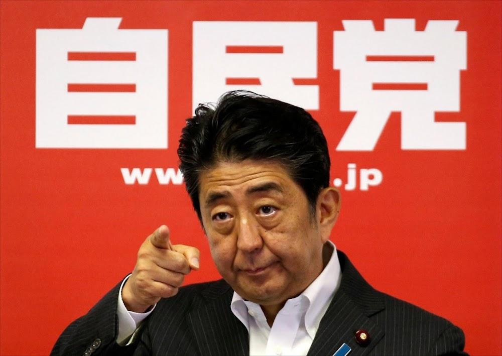 Abe Shinzo en Donald Trump sal saamstem oor wye ooreenkoms