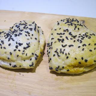 Heart Shaped Feta-Tomato Pastries - Bourekas