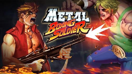 Metal Boxing Soldier imagem do Jogo
