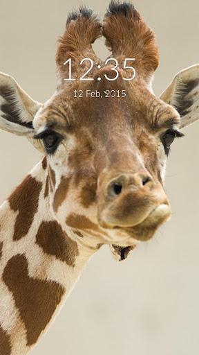 Giraffe Wall Lock