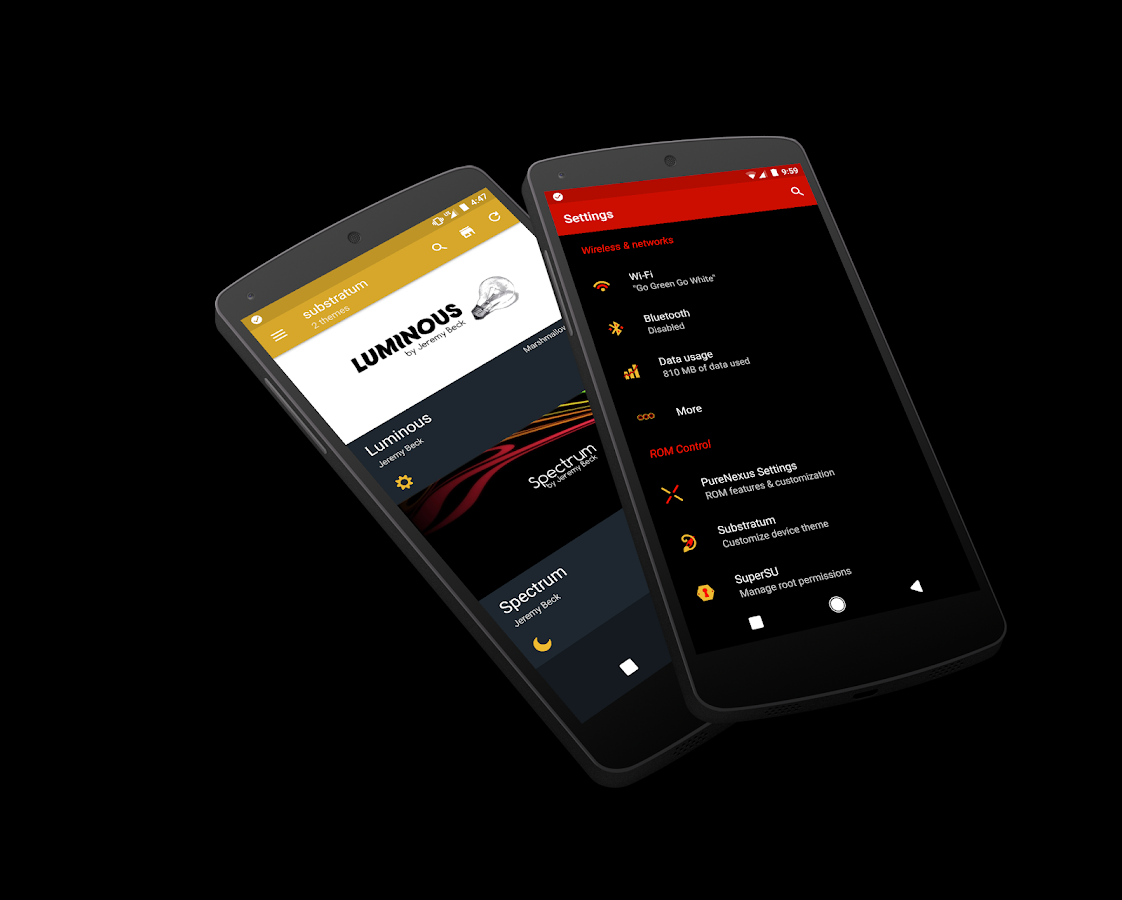 [Substratum] Spectrum Theme- screenshot