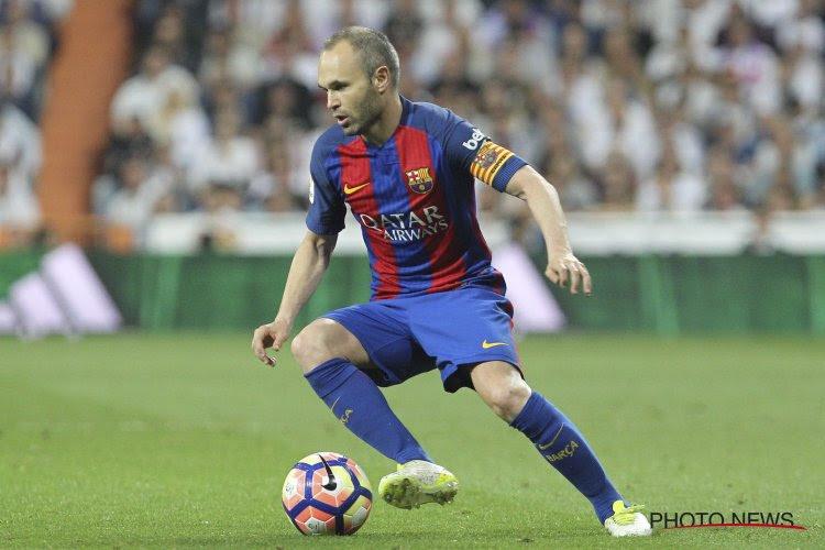 """Iniesta liée à vie au Barça: """"Mon amour pour ce club n'a pas de limite"""""""