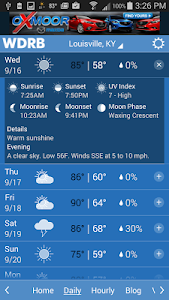 WDRB Weather & Traffic screenshot 1