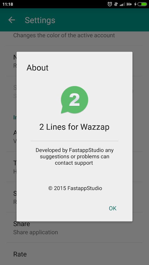 2 Lines for Whazzap ★root- screenshot