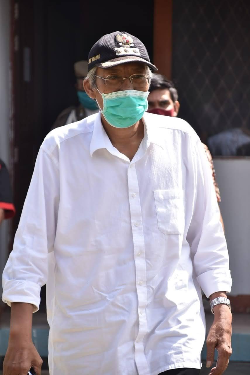 Bupati Jarot Sampaikan Duka Terhadap Musibah Pesawat Sriwijaya Air SJ-182 Yang Hilang Kontak.