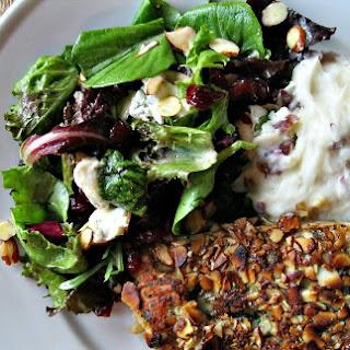 Gorgonzola, Almond and Cranberry Field Green Salad Recipe