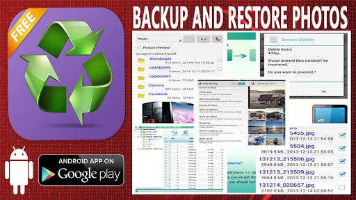 Backup And Restore Photos