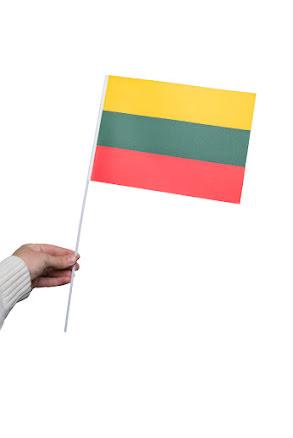 Pappersflagga, Litauen