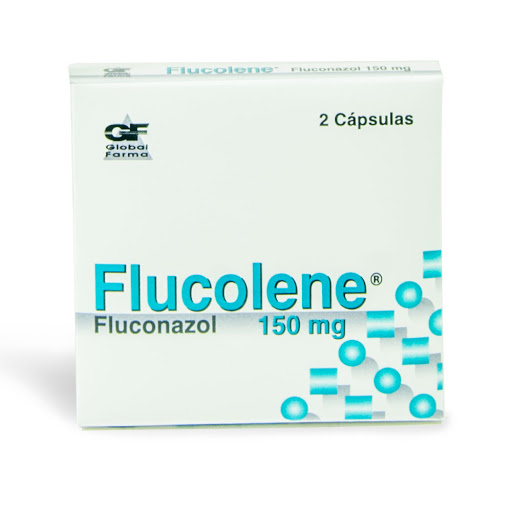 Fluconazol Flucolene 150mg X 2 Capsulas