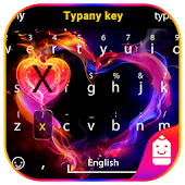 Love Heart Typany Keyboard