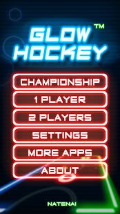 Glow Hockey Screenshot