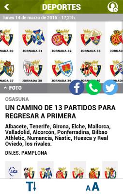 DN+ Móvil Diario de Navarra - screenshot