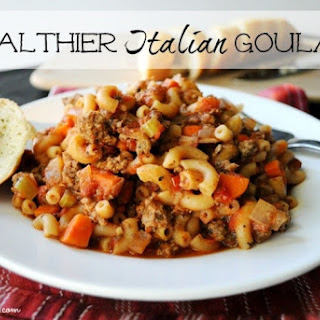 Healthier Italian Goulash Recipe