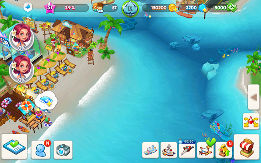 My Little Paradise : Resort Management Game android2mod screenshots 15