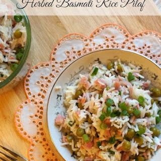 Herbed Basmati Rice Pilaf