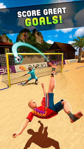 Shoot 2 Goal - Beach Soccer Game 1.2.5 Screenshots 3