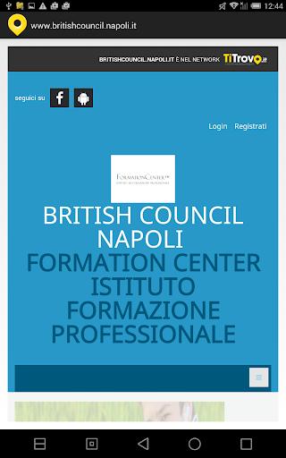 British council Napoli