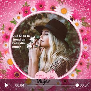 Download Women's day video maker  apk screenshot 1