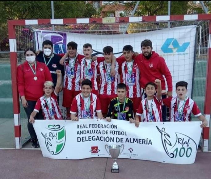 Sporting Almería campeón cadete.