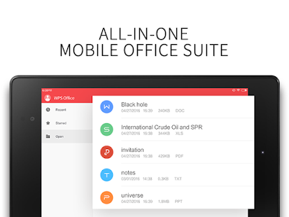 WPS Office - Word, Docs, PDF, Note, Slide & Sheet- screenshot thumbnail