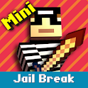 Cops N Robbers: 3D Pixel Prison Games 1 icon