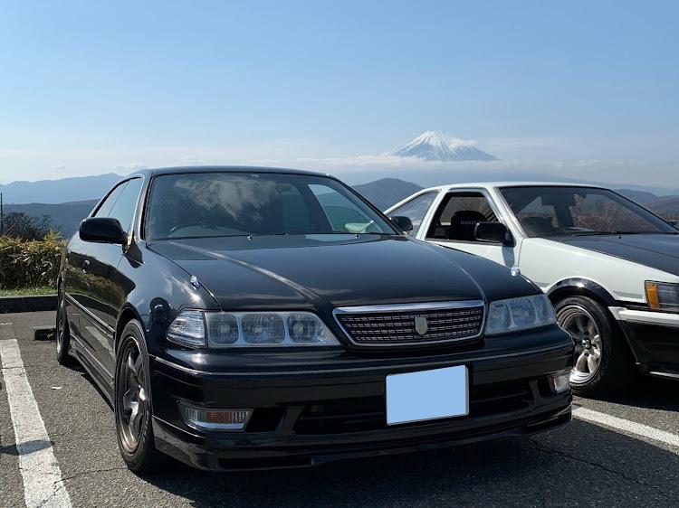 マークII JZX100のSSS(saitama street stage),箱根ターンパイク,大涌谷,芦ノ湖,富士山に関するカスタム&メンテナンスの投稿画像10枚目