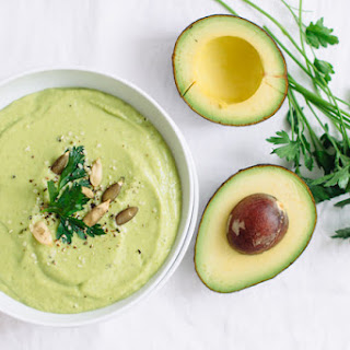 Avocado Asparagus Gazpacho Recipe