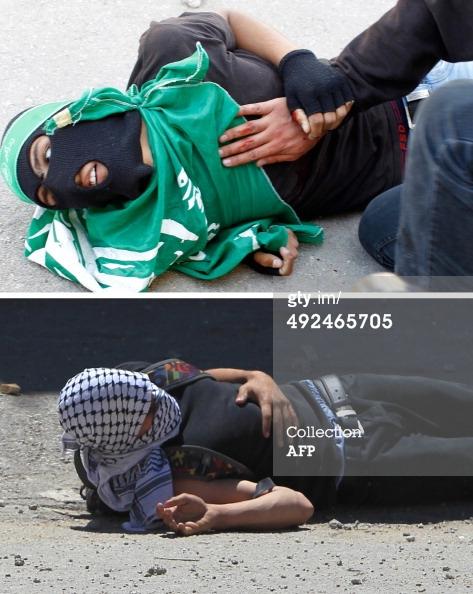 PALESTINIAN-ISRAEL-CONFLICT-NAKBA : News Photo