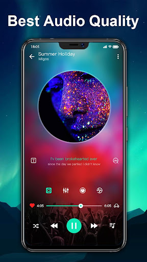 Music player & Video player with equalizer 1.1.2 screenshots 2