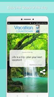 Vacation Countdown App Mod