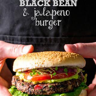 BBQ Black Bean & JalepeñO Burger Recipe