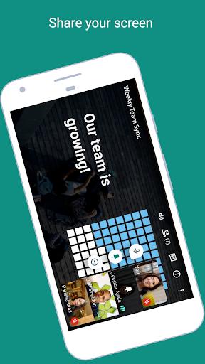 Google Meet screenshot 4