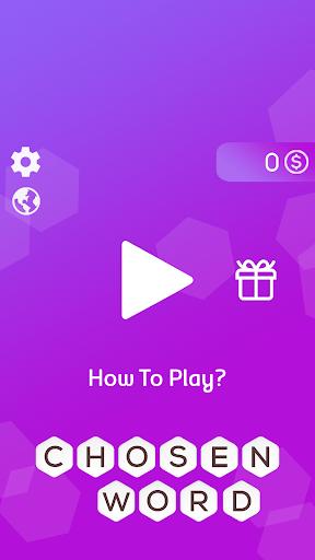 Chosen Word - Word Puzzle Game 1.0 screenshots 1